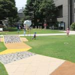 練馬区立美術の森緑地感覚遊具