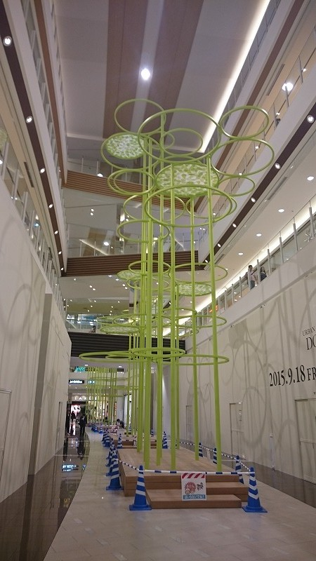 商業施設 デザインオブジェ 名古屋1
