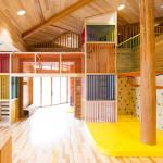 室内木製遊戯施設