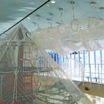 チューブ状のネットトンネル