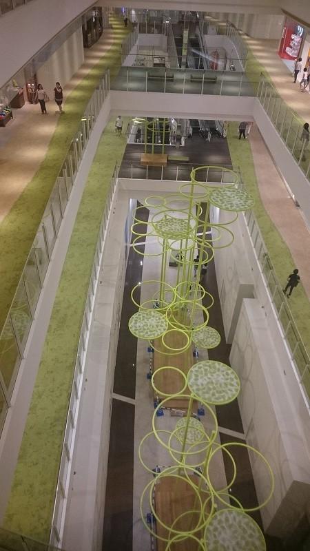 商業施設 デザインオブジェ 名古屋2
