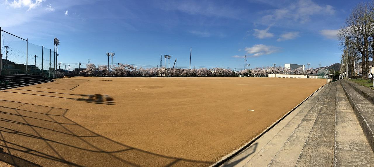 南砺市立井波中学校グラウンド