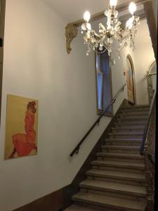 ウィーンのホテルに飾られるシレー