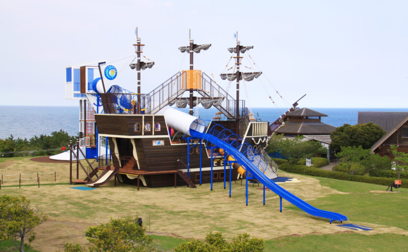 夏に行きたい!大型屋外遊具!